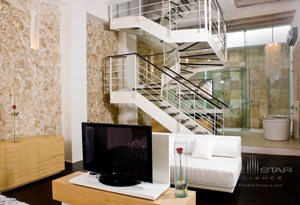 Gazar penthouse suite at Tcherassi Hotel Cartegena, Columbia