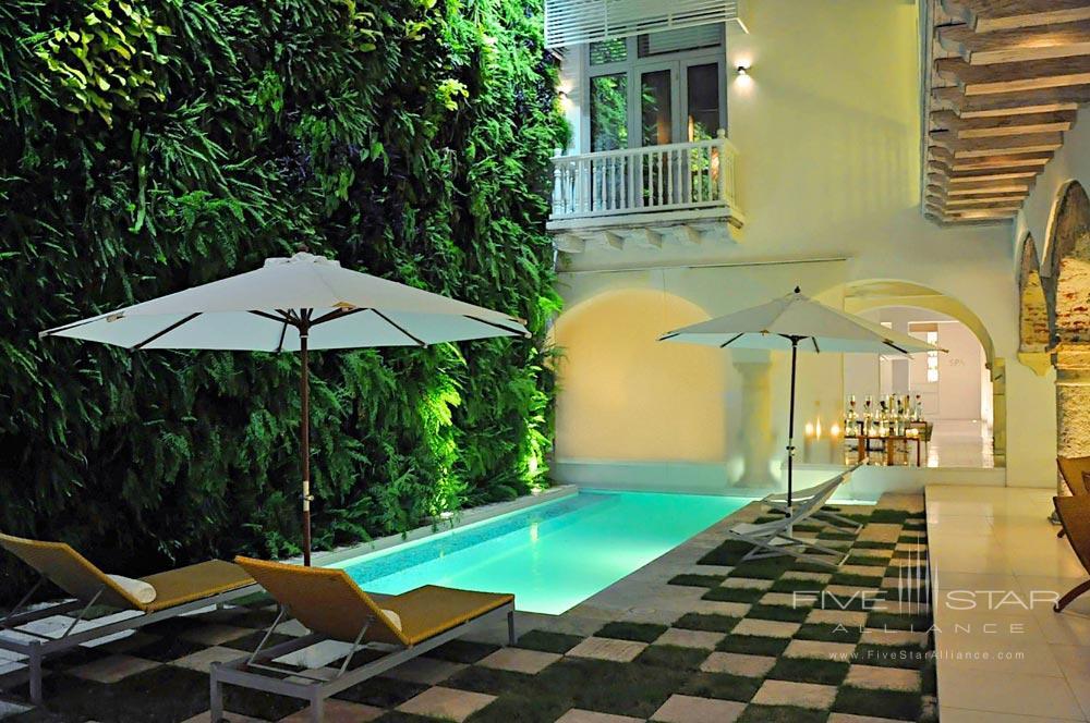 Pool at Tcherassi Hotel Cartegena, Columbia