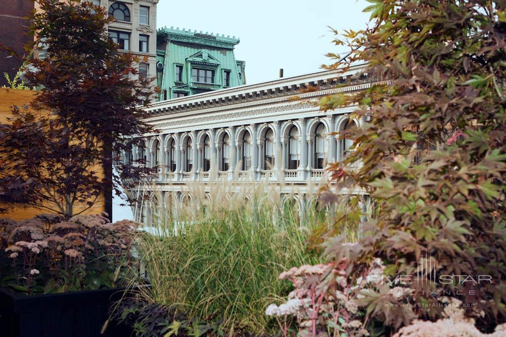 Exterior of The Broome Hotel New York, NY