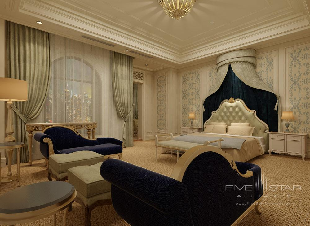 Guest Room at the Castle Hotel Dalian, China