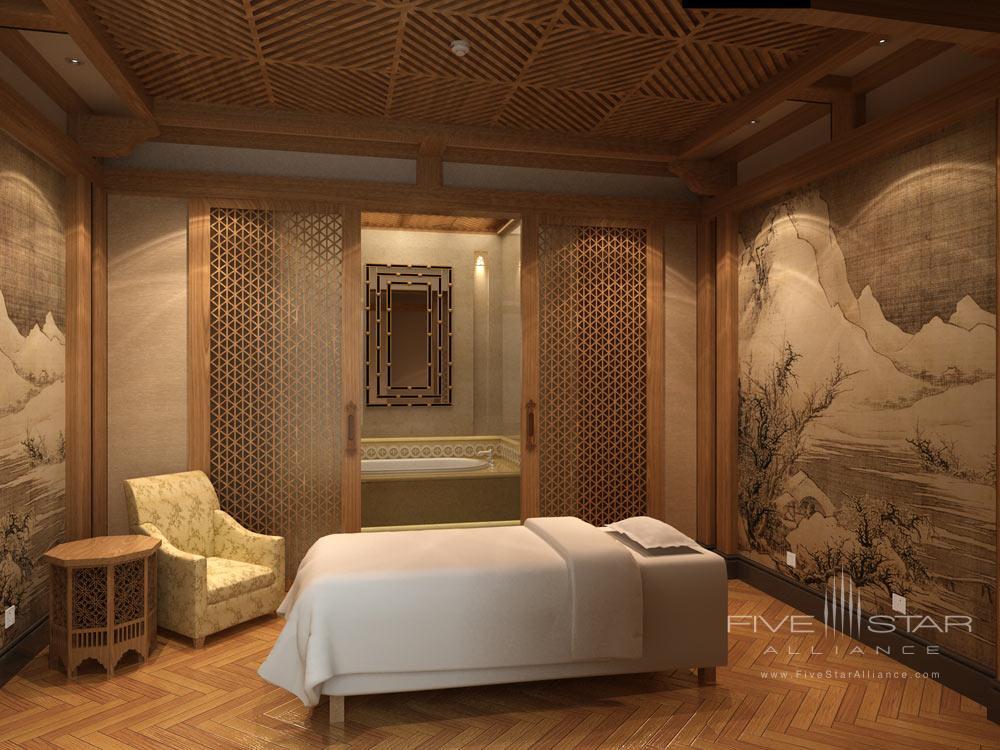 Spa at the Castle Hotel Dalian, China