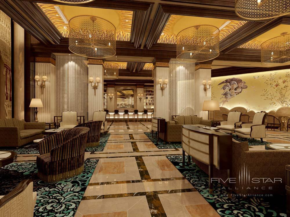 Bar at the Castle Hotel Dalian, China