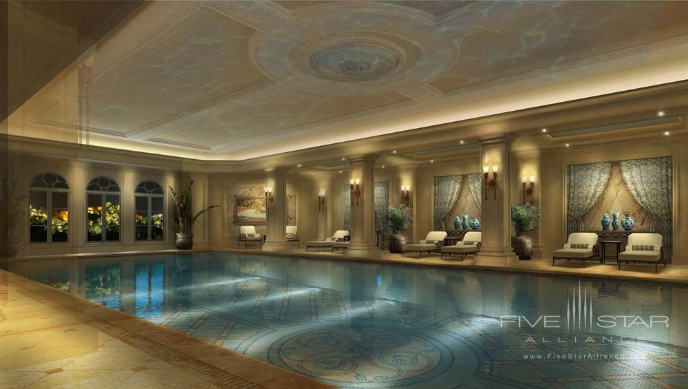 Indoor Pool at the Castle Hotel Dalian, China