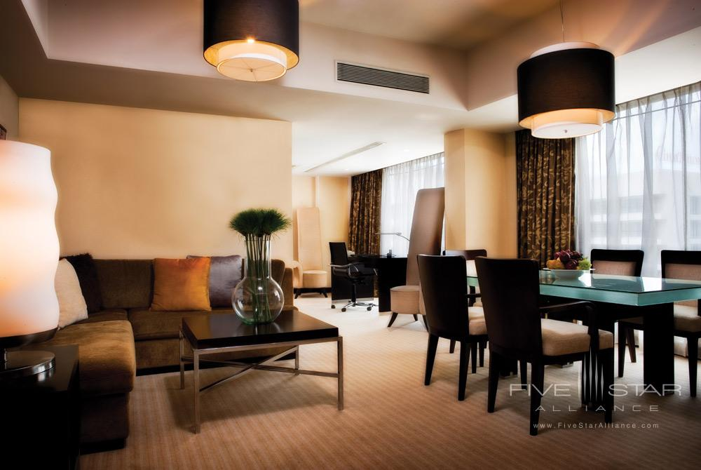 Executive Suite Living Area at Cinnamon Grand Colombo
