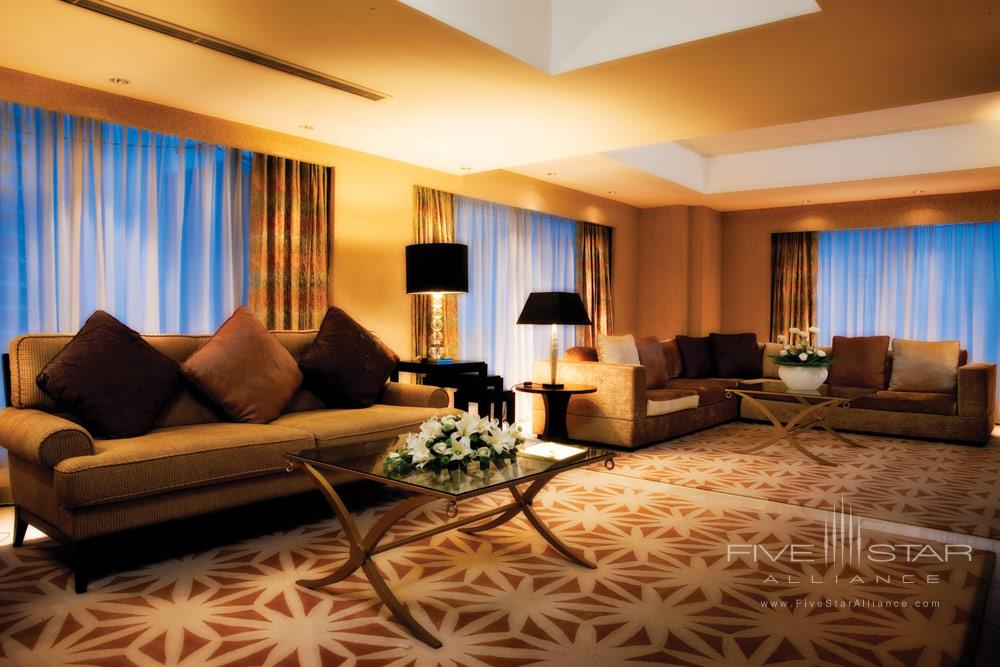 Premium Suite Living Area at Cinnamon Grand Colombo