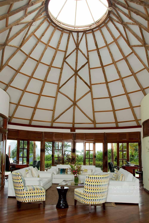 Lobby at Royal Palm Galapagos