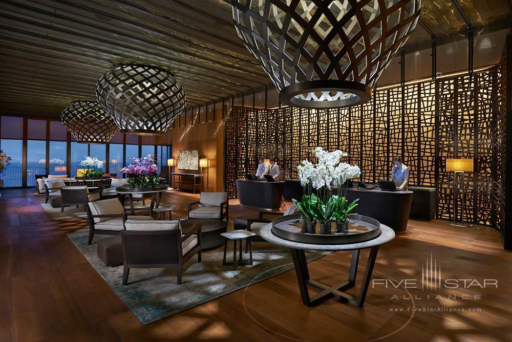 Reception at Mandarin Oriental Bodrum