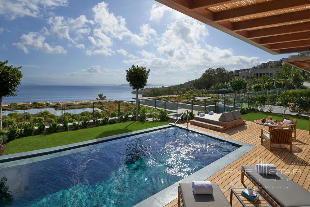 Sea View Suite with a Private Terrace at Mandarin Oriental Bodrum