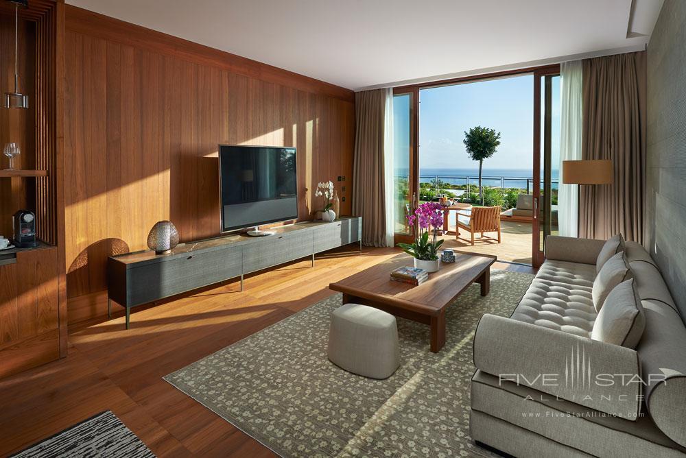 Sea View Private Suite Family Room at Mandarin Oriental Bodrum