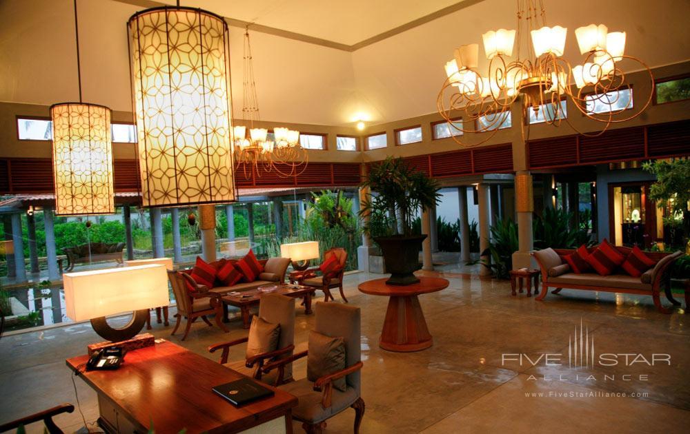 Lobby at Serene Pavilions