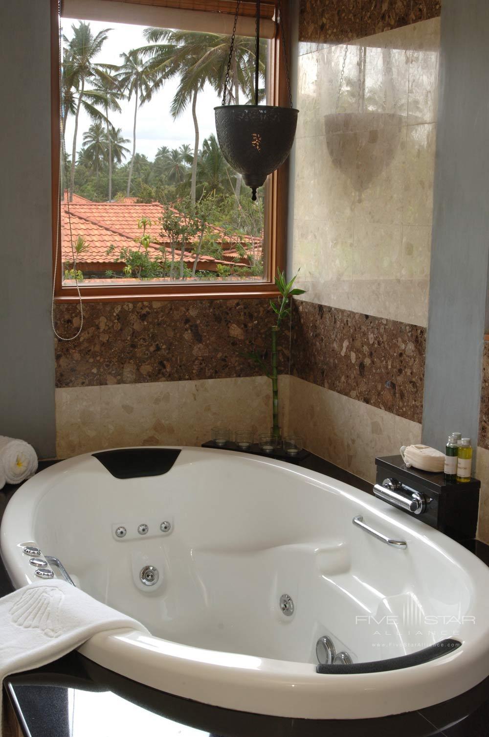 Washroom with Jacuzzi at Serene Pavilions