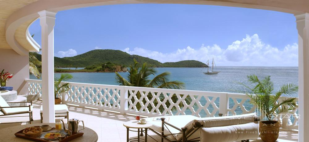 Patio Terrace at Curtain Bluff