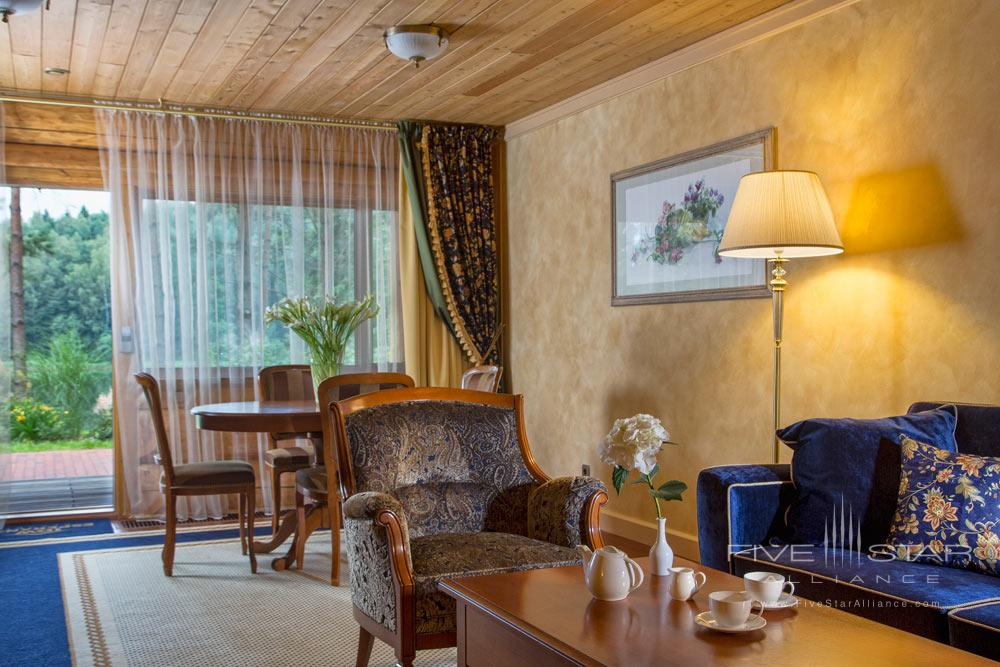 Suite Lounge at IDW Esperanza Resort Trakai District, Lithuania