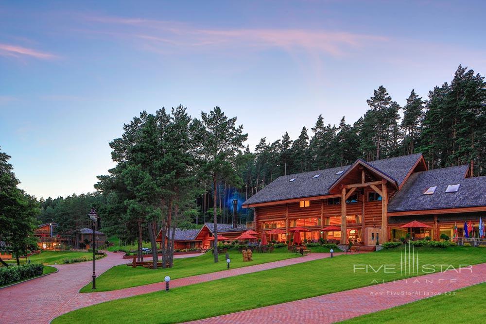 Exterior of IDW Esperanza Resort Trakai DistrictLithuania