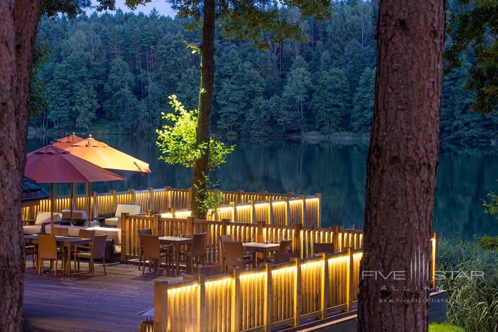 Terrace at IDW Esperanza Resort Trakai DistrictLithuania