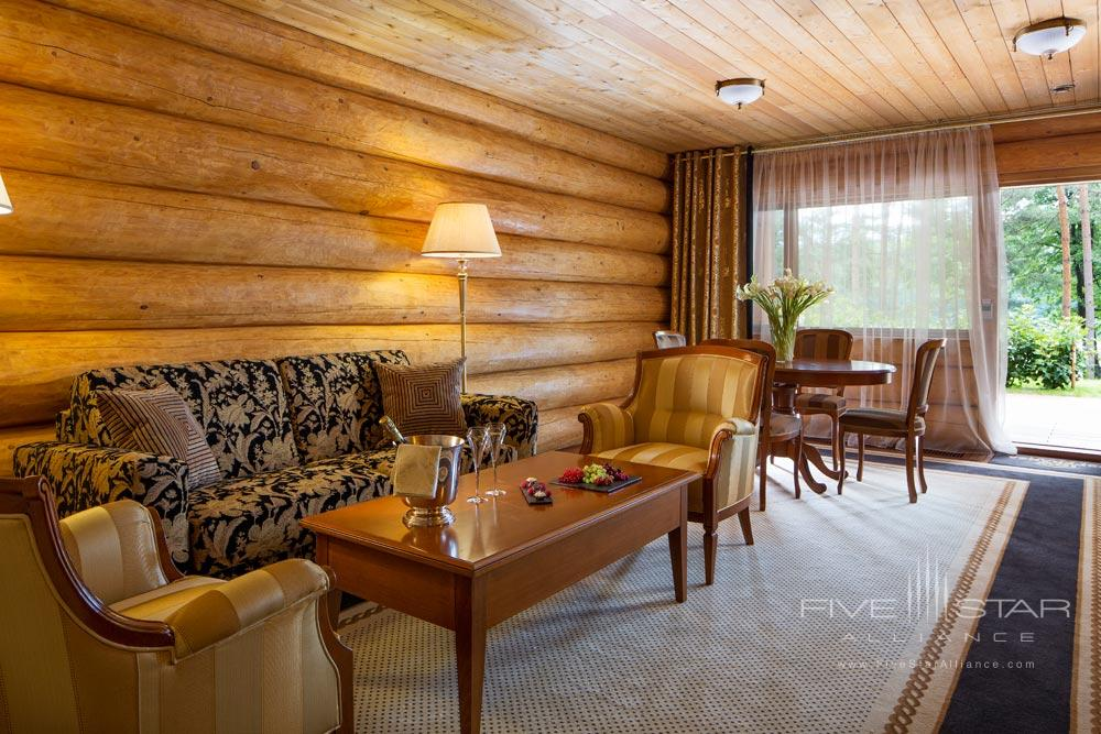 Lux Suite Lounge Area at IDW Esperanza Resort Trakai District, Lithuania