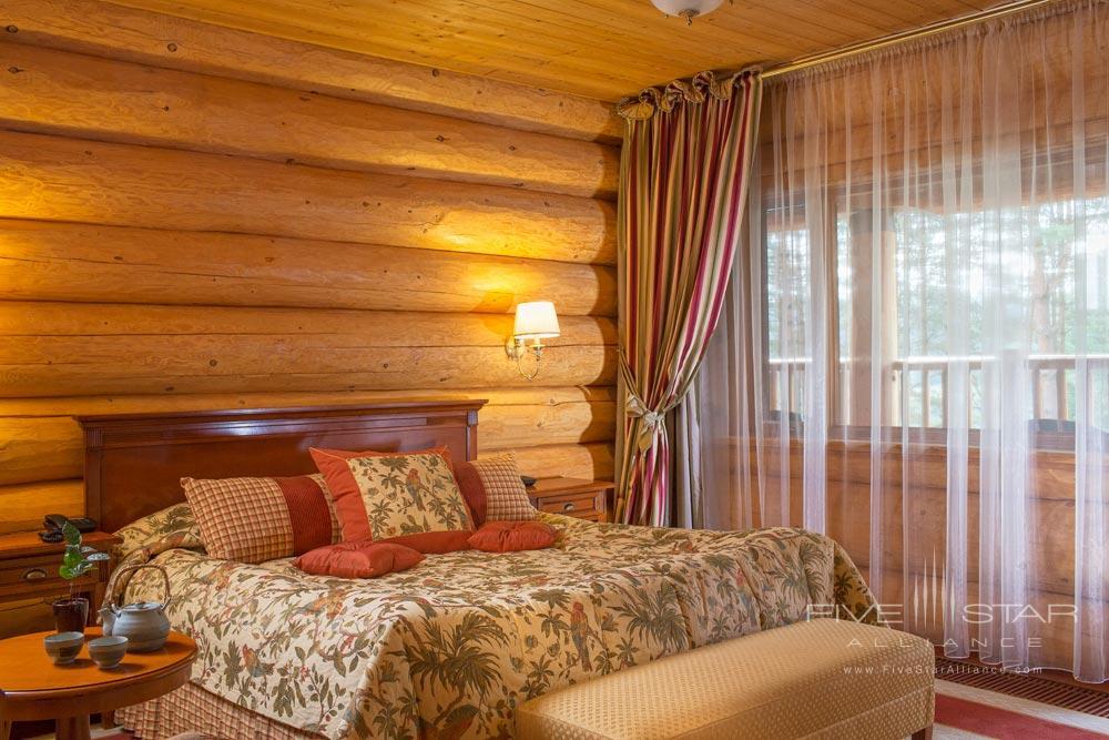 Lux Suite Bedroom at IDW Esperanza Resort Trakai DistrictLithuania