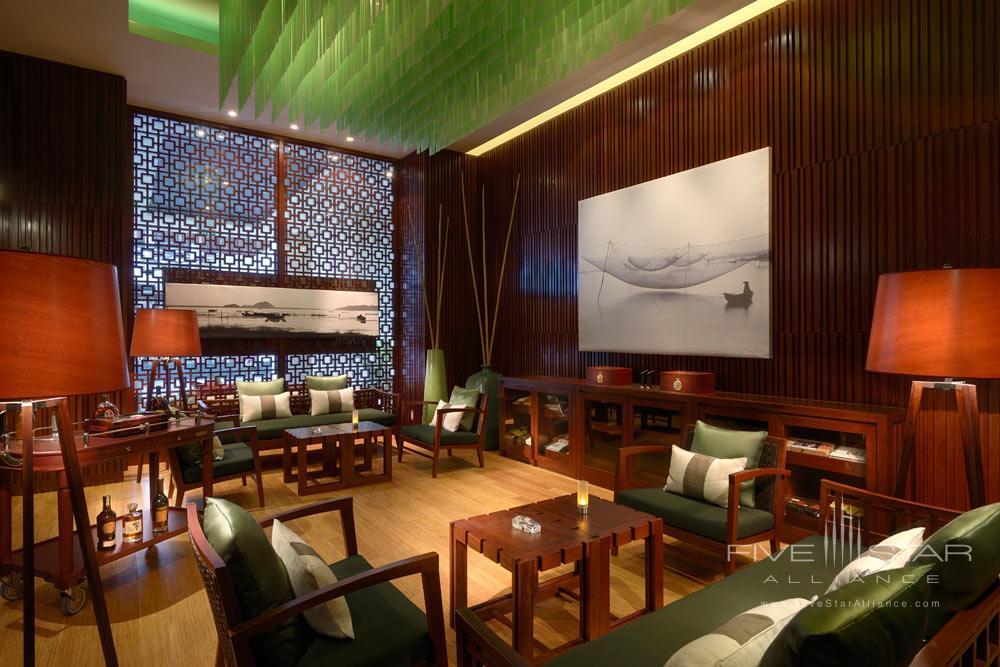 Cigar Lounge Area.
