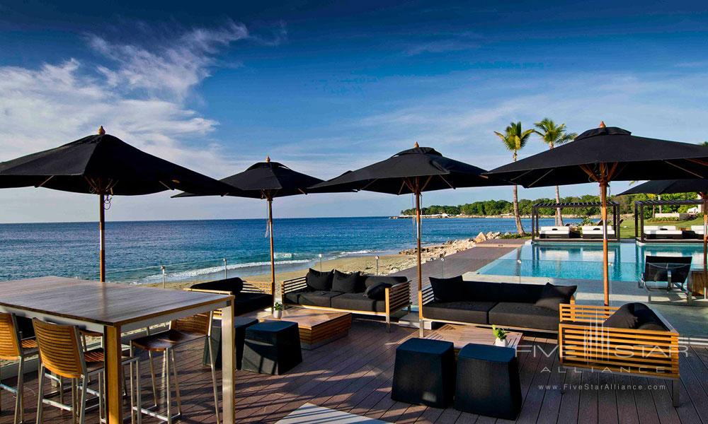 Dine By The Pool At The Gansevoort Dominican Republic Hotel.