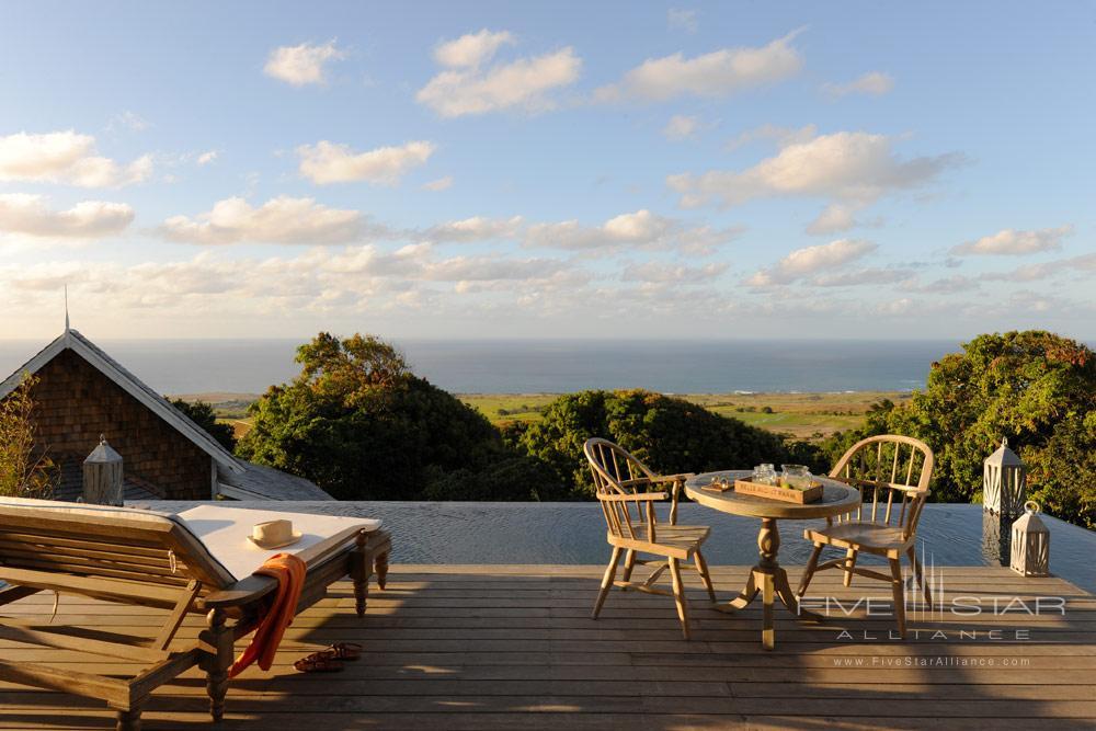 Belle Mont Farm Terrace Guestroom.