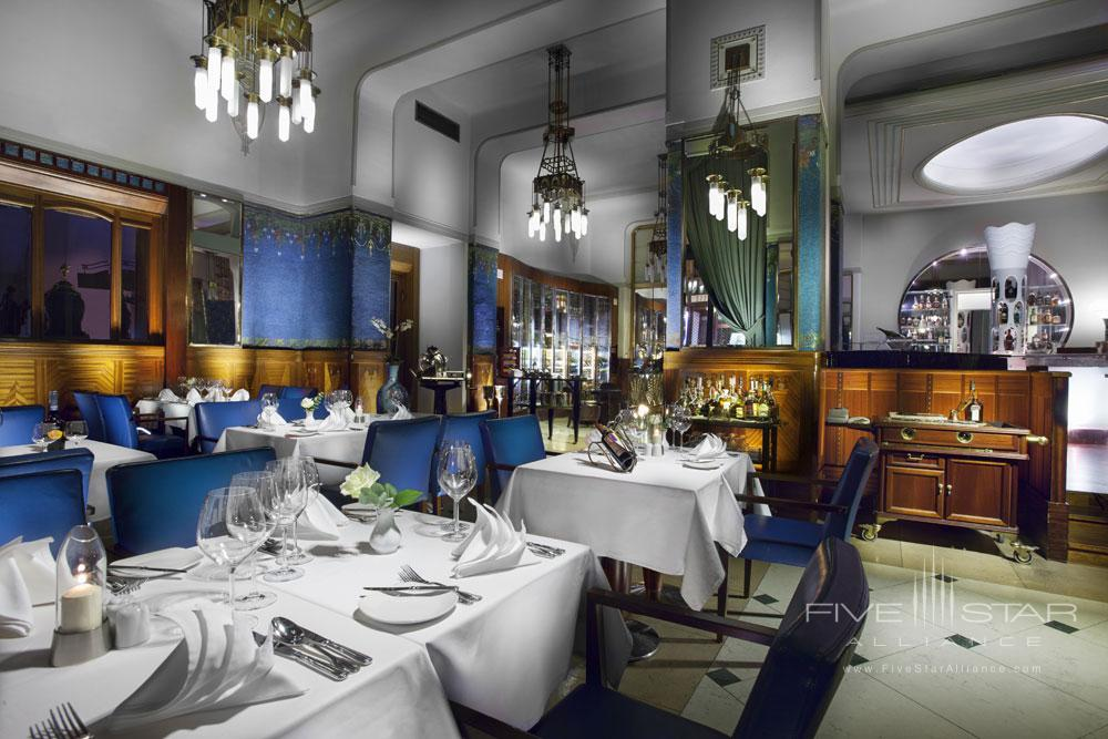 The Sarah Bernhardt Restaurant at The Hotel Paris Prague