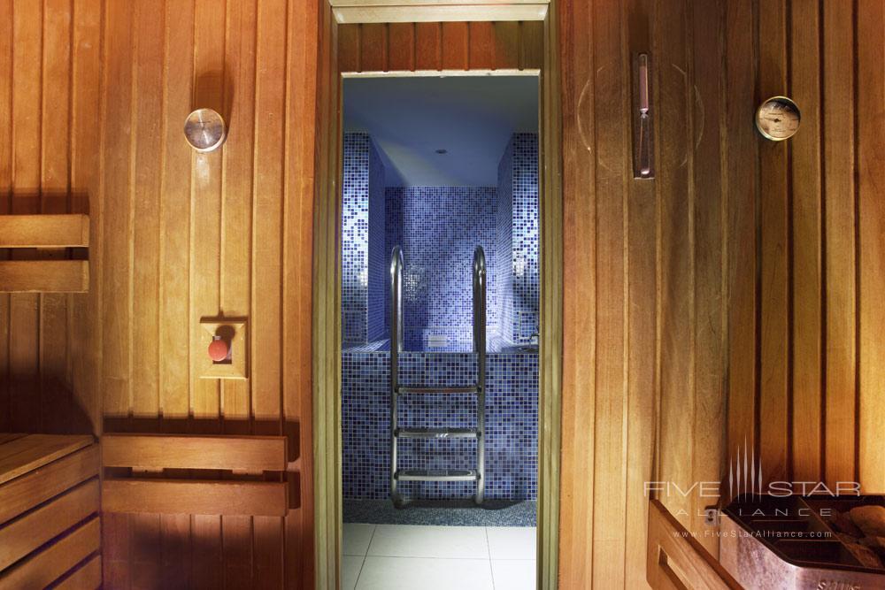 Sauna at The Hotel Paris Prague
