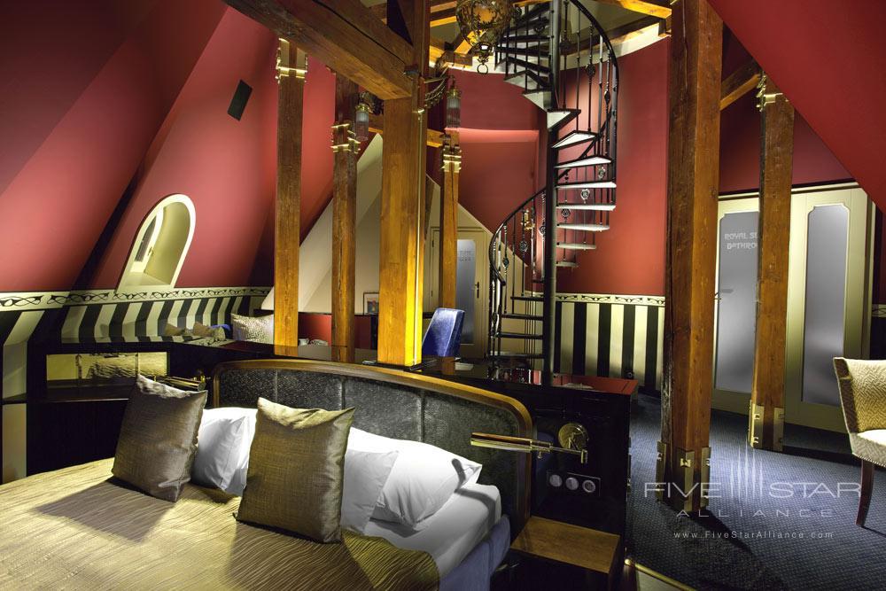 The Tower Suite at Hotel Paris Prague