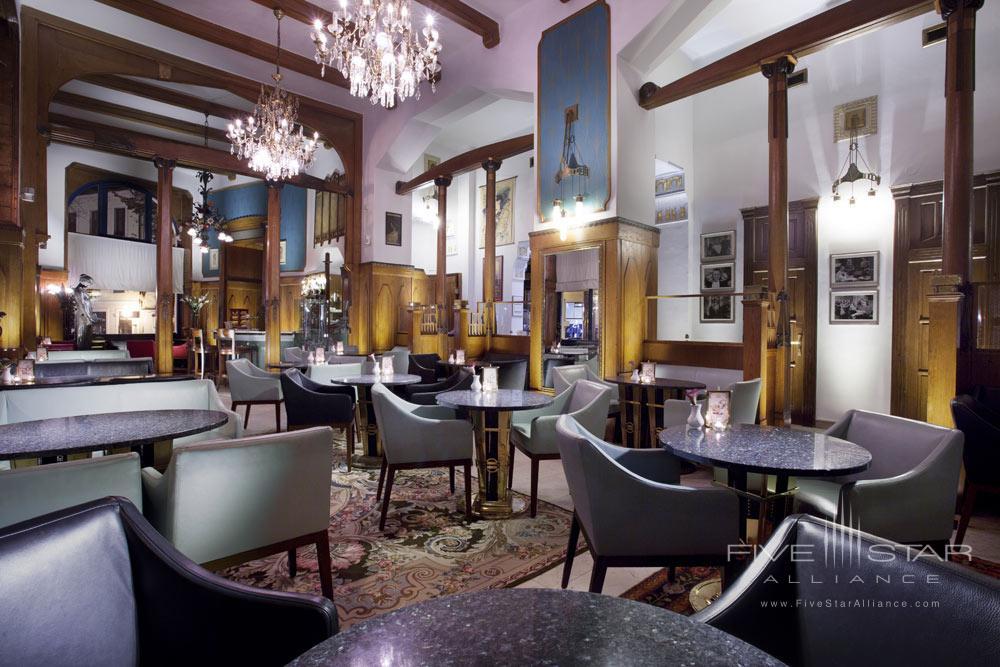 The Cafe De Paris at Hotel Paris Prague