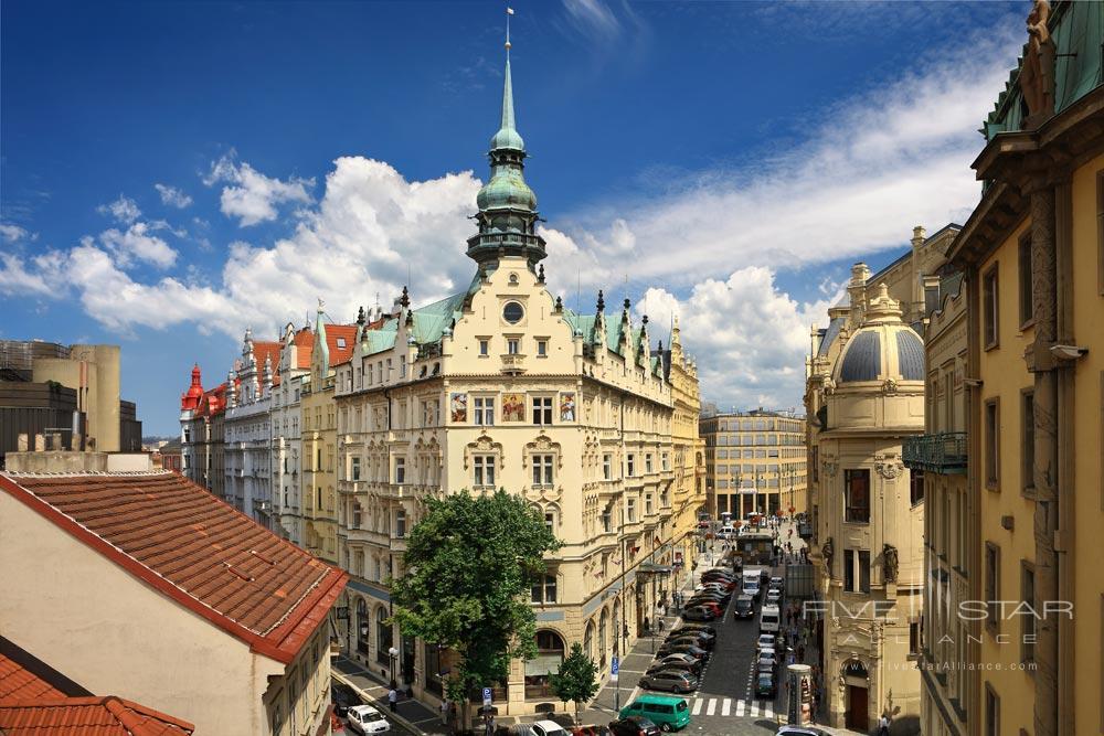 Exterior of The Hotel Paris Prague