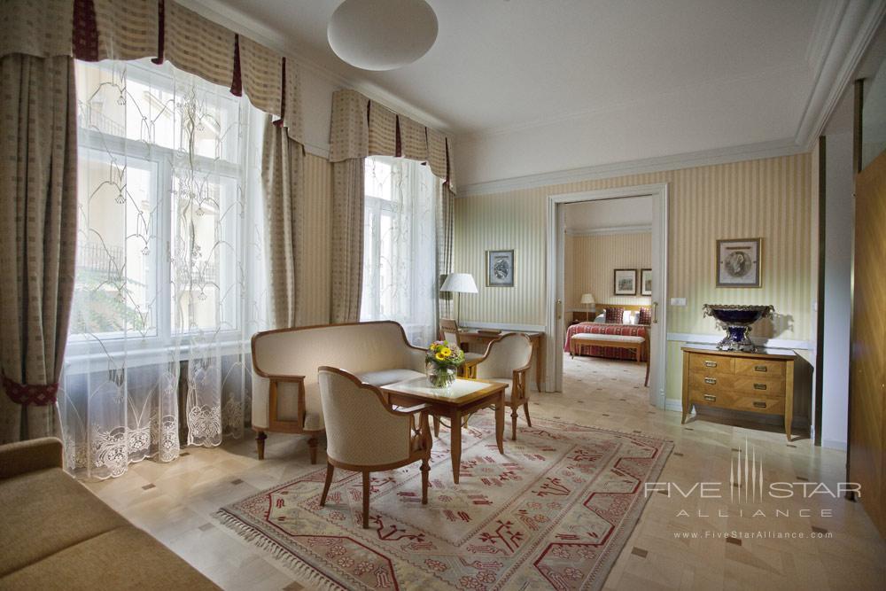 The Klimt Suite at Hotel Paris Prague