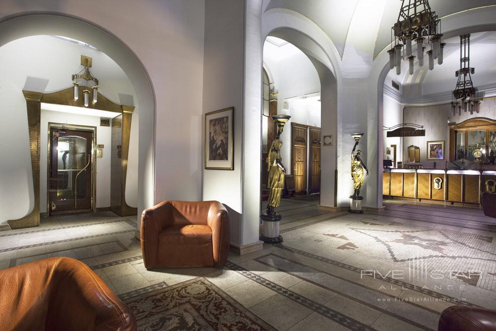 Lobby of The Hotel Paris Prague