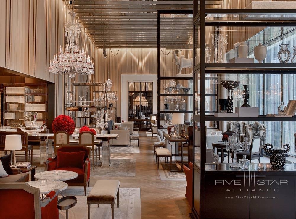 The bar at Baccarat Hotel New York