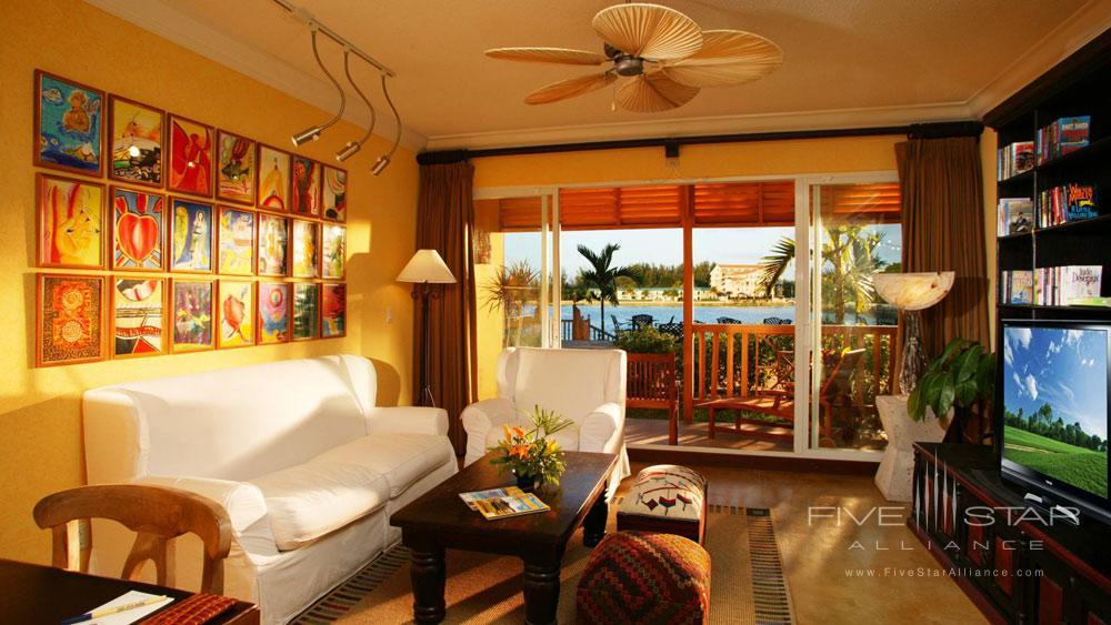 Suite Living Area at Pelican Bay at Lucaya