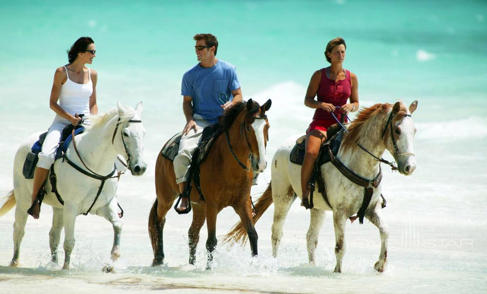 Horse Riding on the Beach at Pelican Bay at Lucaya