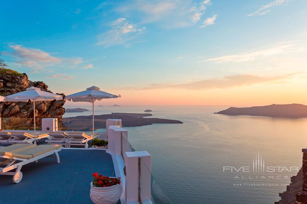 Terrace Views from Pegasus Suites and SpaSantorini