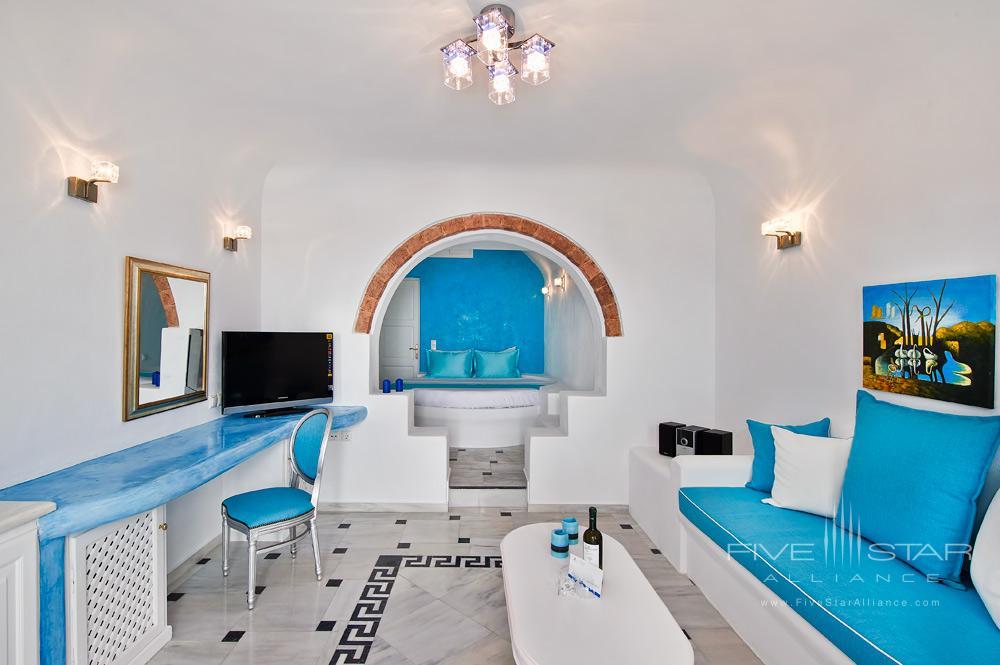 Honeymoon Jacuzzi Suite at Pegasus Suites and SpaSantorini