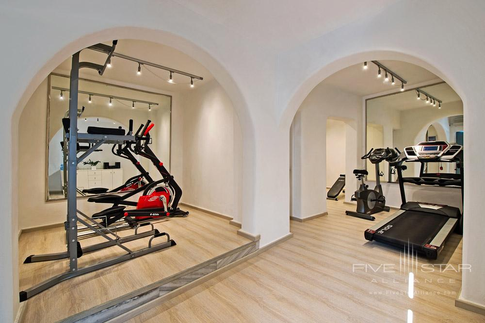 Fitness Center at Pegasus Suites and Spa, Santorini