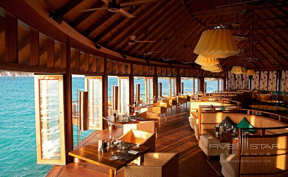 Jing Restaurant at Constance Halaveli Maldives
