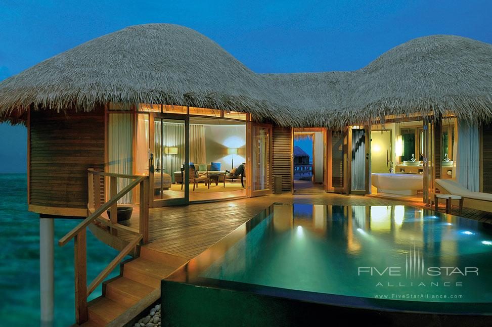 Water Villa at Constance Halaveli Maldives