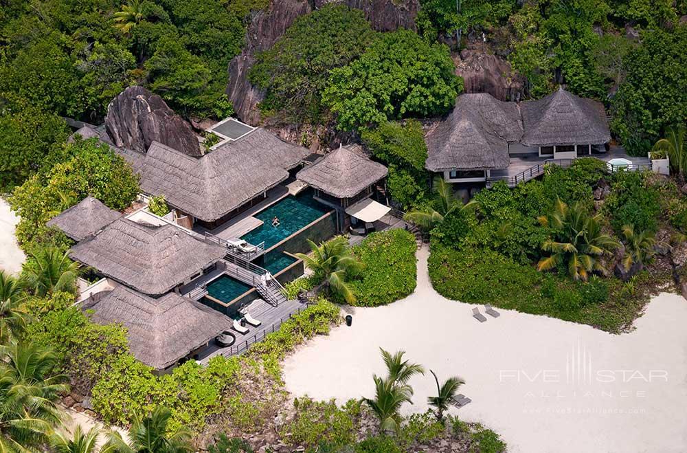 Exterior of Presidential Villa at Constance Lemuria Seychelles