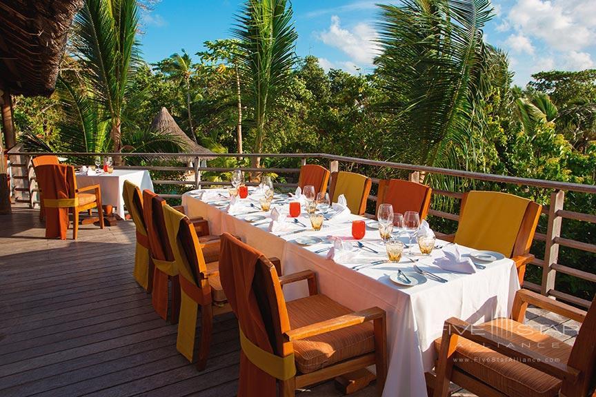 Legends Restaurant at Constance Lemuria Seychelles