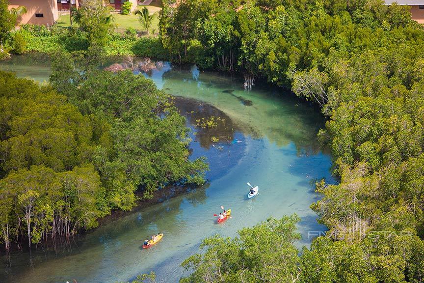 Kayaking at Constance Ephelia Seychelles