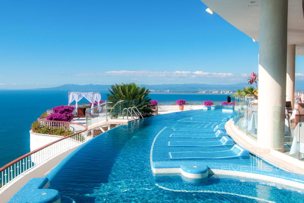 Rooftop Pool at Grand Miramar Resort and Spa Puerto Vallarta, Jalisco, Mexico