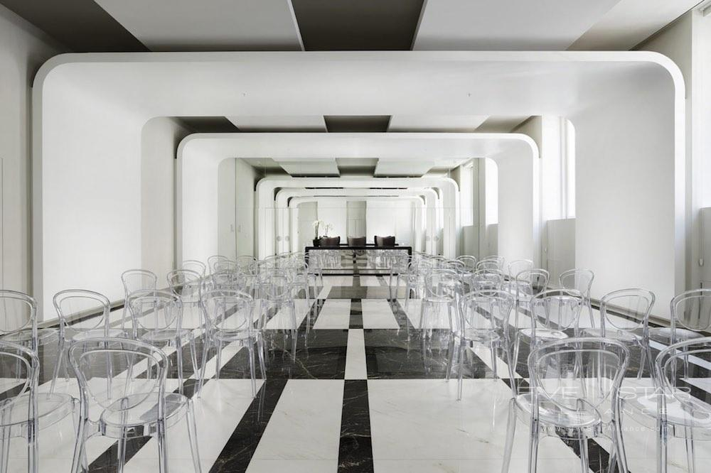 Conference and event space at the Palazzo Montemartini in central Rome, Italy