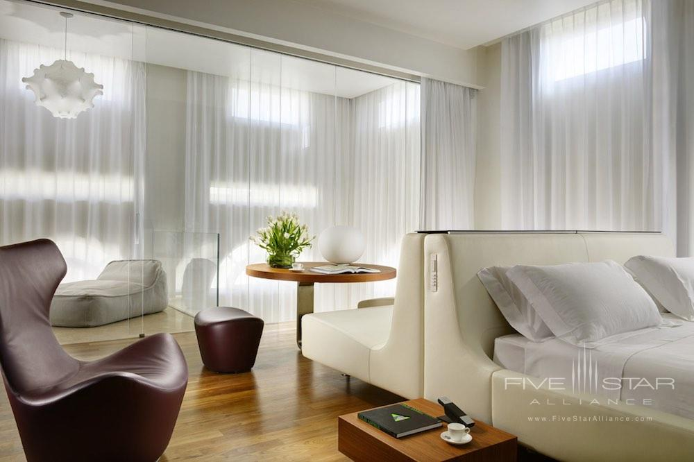 Penthouse Suite at the Palazzo Montemartini in the center of Rome, Italy