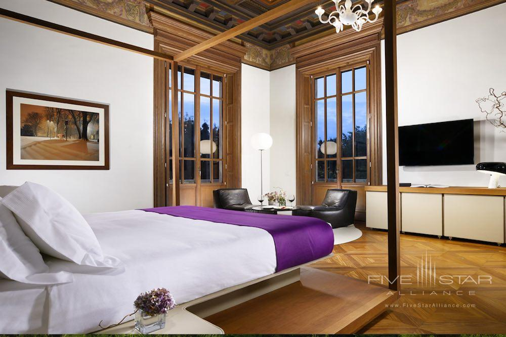 Noble Suite at the Palazzo Montemartini in central Rome, Italy