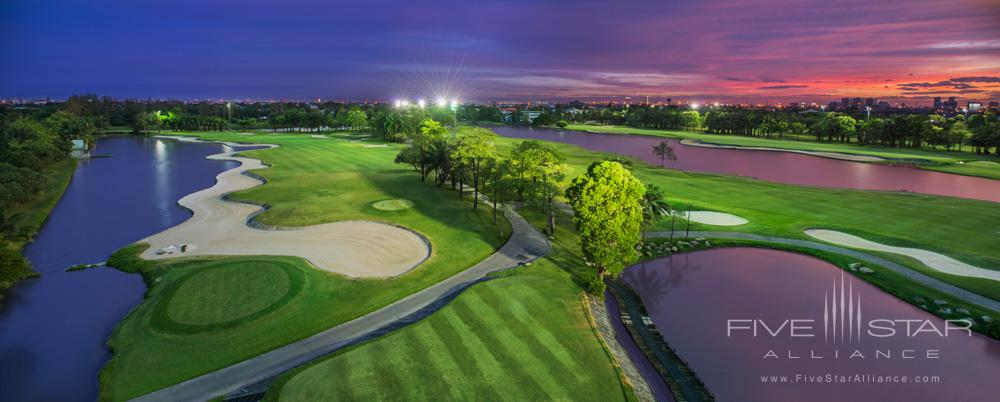 Overview of Golf Course at Le Meridien Suvarnabhumi Bangkok Golf Resort and Spa