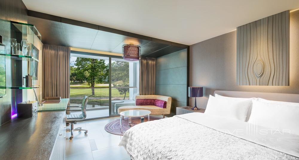 Guestroom and View at Le Meridien Suvarnabhumi Bangkok Golf Resort and Spa
