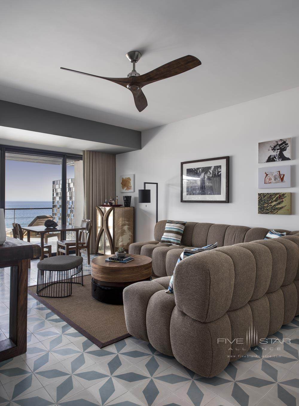 Suite Living Area at The Cape, Los Cabos