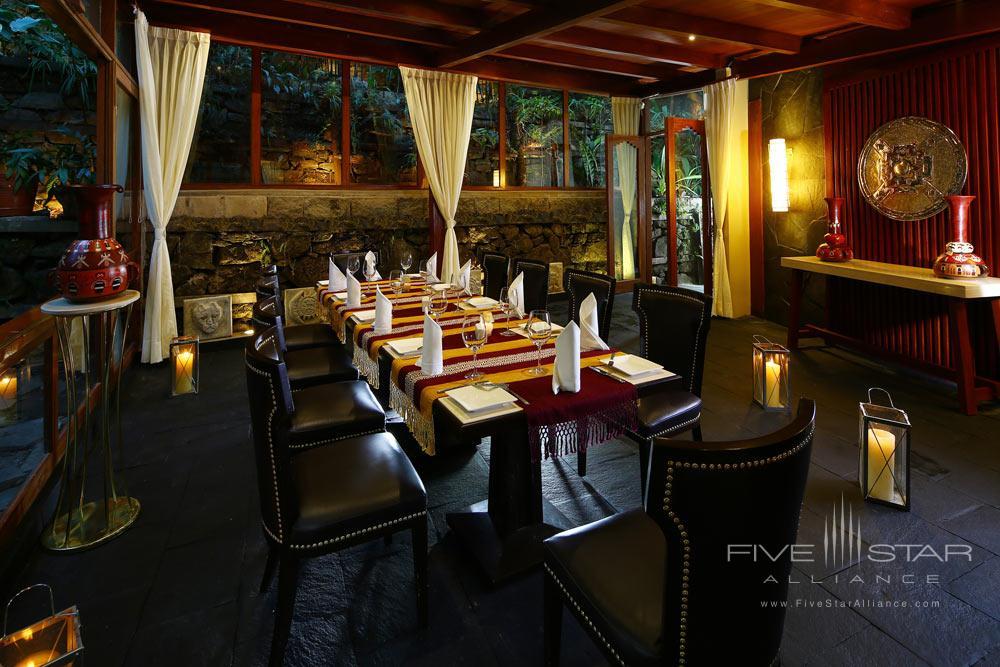 Terrace Dining at Sumaq Machu Picchu Hote, lMachu Picchu, Peru